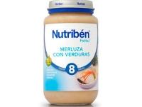 NUTRIBEN MERLUZA CON VERDURA POTITO GRANDOTE 250 G
