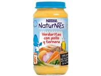 NESTLE PURE DE VERDURAS CON POLLO Y TERNERA 250 G